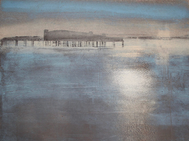 Weston Pier by Ruth Ander