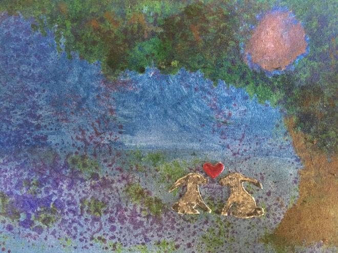 Bunny Valentine by Judy Darley