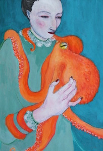 Octopus by Amanda Cozens