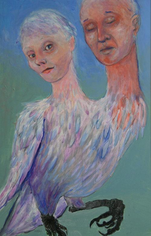 Twins by Amanda Cozens