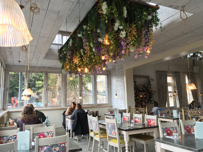 The Florist interior by Judy Darley