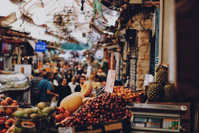 Mahane Yehuda Market, Jerusalem by Roxanne Desgagnes on Unsplash