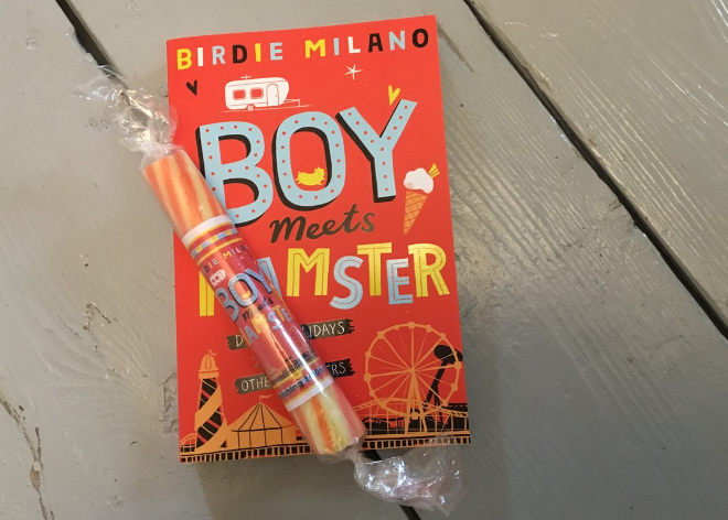 Boy Meets Hamster by Birdie Milano