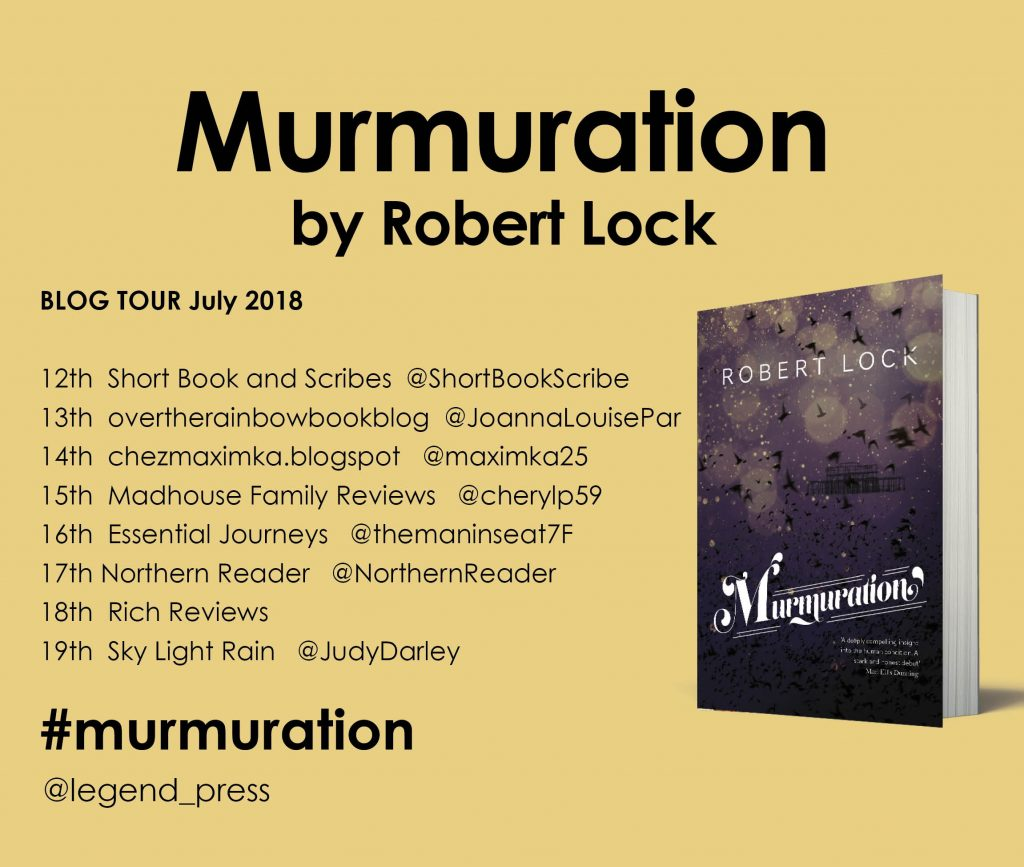 Murmuration Blog Tour Banner