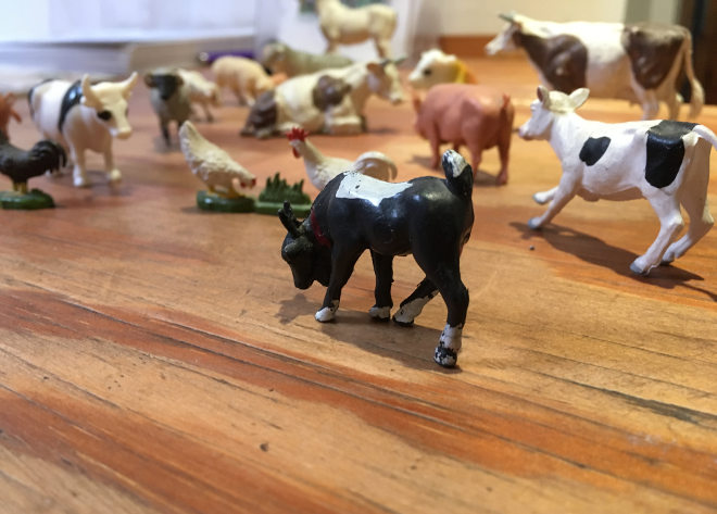 Toy farm animals cr Judy Darley