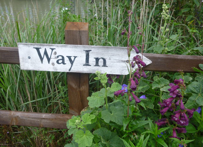Lavender Farm way in sign by Judy Darley