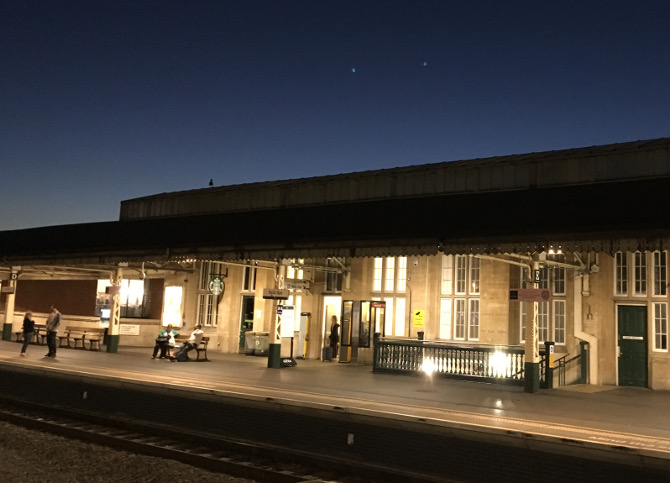Train station cr Judy Darley