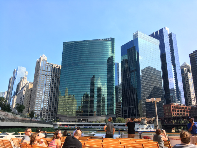 Architecture river cruise. Photo by Judy Darley
