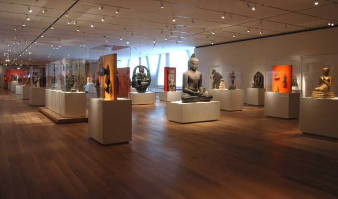The Art Institute of Chicago. Alsdorf Galleries of Indian, Southeast Asian, Himalayan, and Islamic Art. Courtesy of the Art Institute of Chicago
