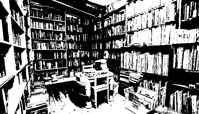 The Petersfield Bookshop interior_sketch