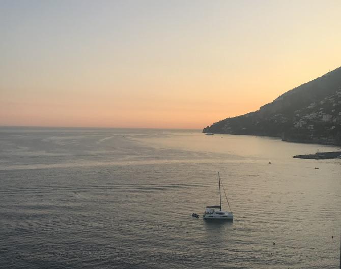 Italian sunset by Daisy McNally