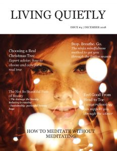 Living Quietly Issue 4 front cover