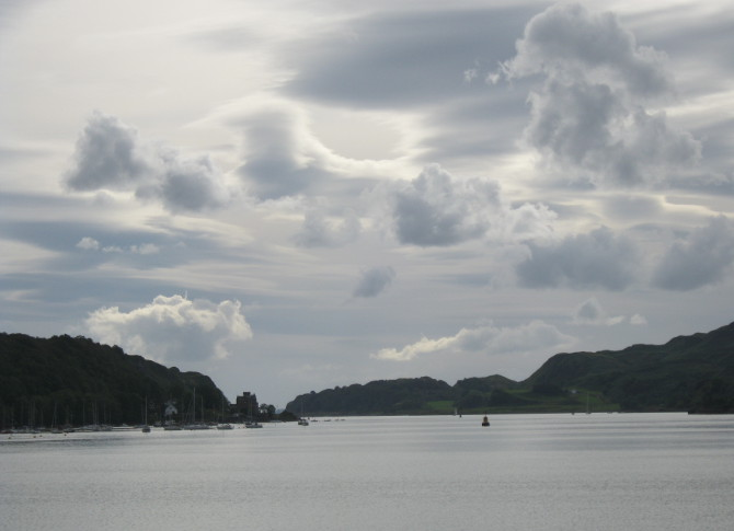 Oban bay. Photo by Judy Darley