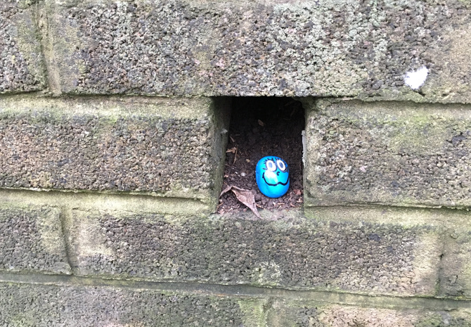 Kindness Rocks_Arnos Vale_photo by Judy Darley