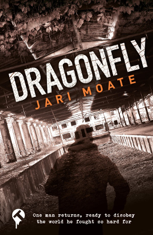 Dragonfly - cover art by Joe Burt, Tangent Books, 2018