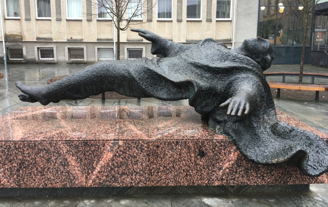 Levitator. Kaunas, Lithuania. Photo by Judy Darley