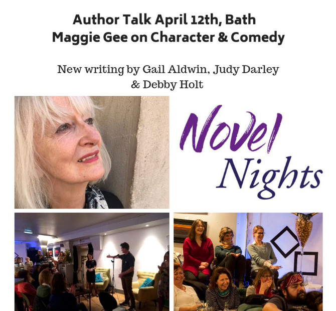 Novel Nights 12 April 2019