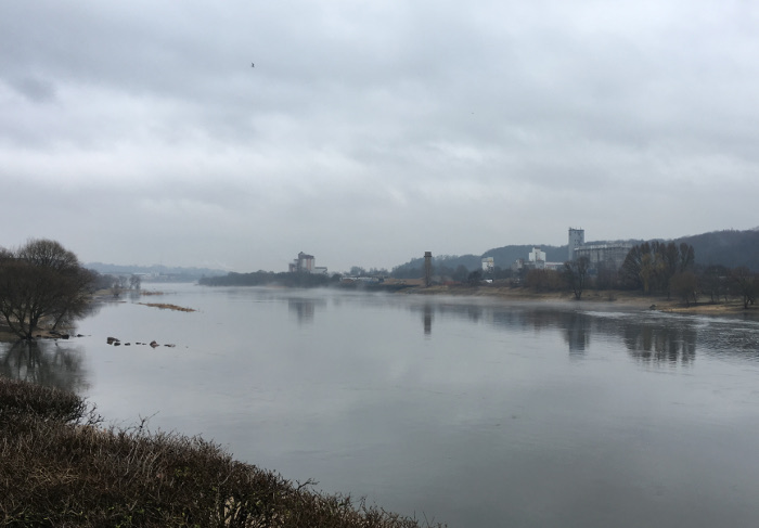 Kaunas, Lithuania, River. By Judy Darley