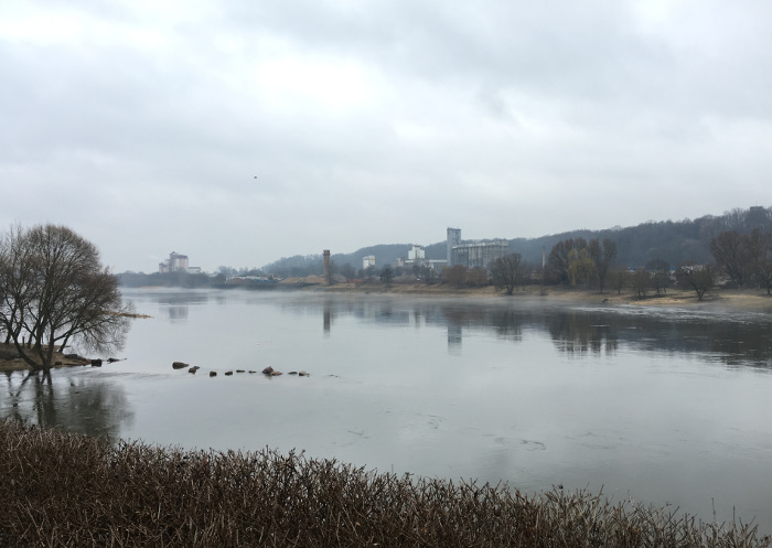 Kaunas, Lithuania, River1. By Judy Darley