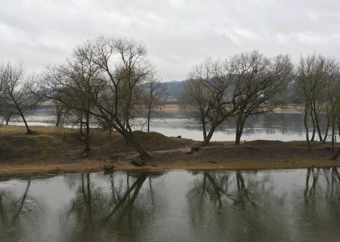 Kaunas, Lithuania, River2. By Judy Darley