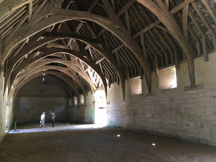 Tithe Barn at Bradford on Avon by Judy Darley