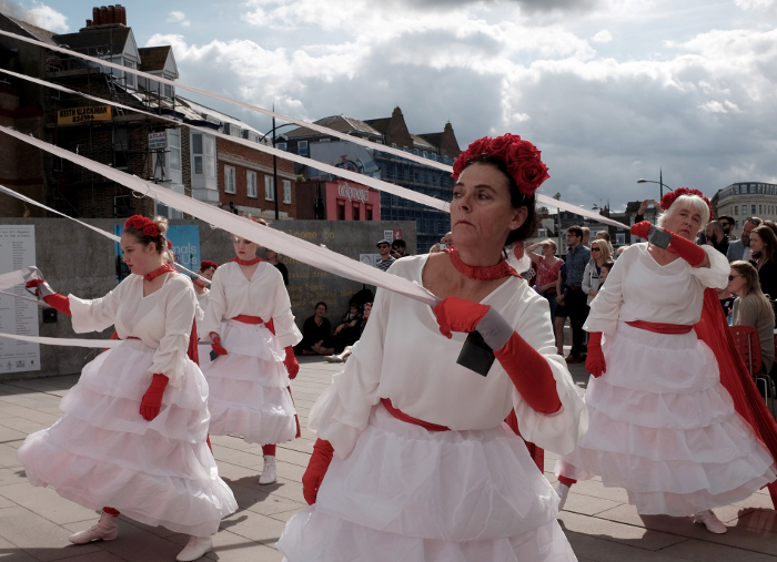 Margate Festival NOW 2018_Artists Moving Memory_photo by Heather Tait