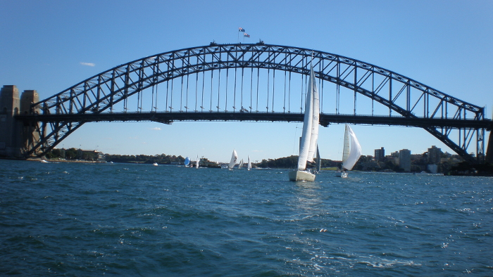 Sydney Harbour Bridge by Annee Lawrence