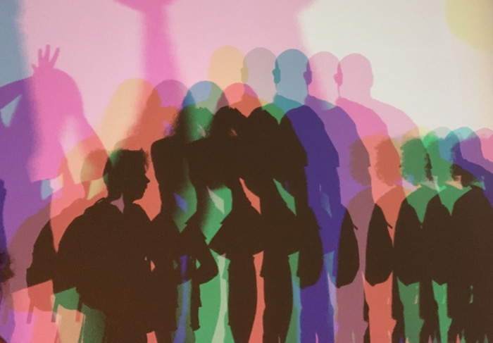 Your uncertain shadow (colour) by Olafur Eliasson
