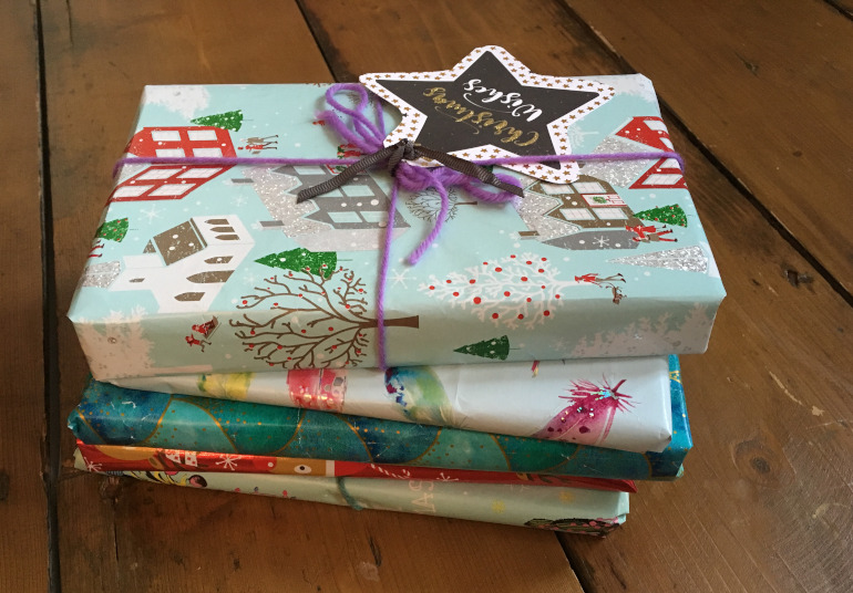 Christmas gifts by Judy Darley