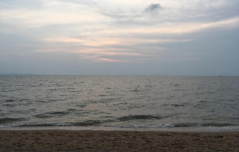Pataya, Thailand beach by Judy Darley