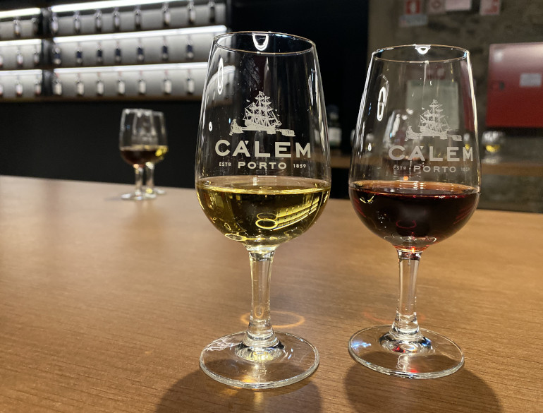 Porto Calem tasting by James Hainsworth