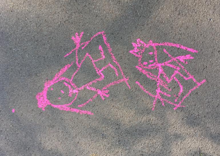 Chalk sisters by Judy Darley