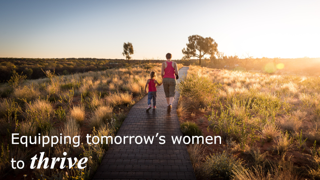 Equipping tomorrow's women to thrive