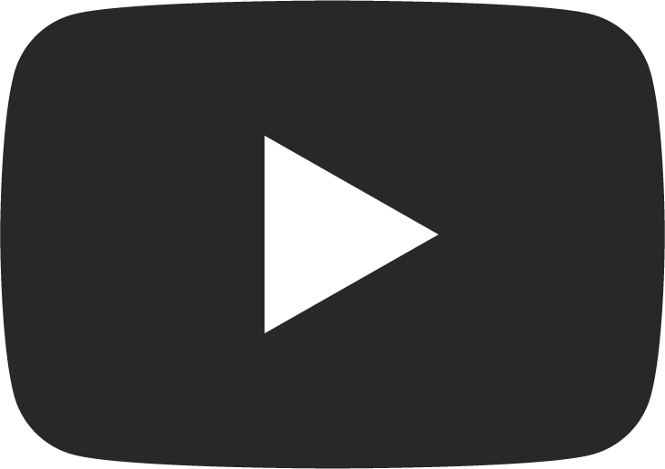 YouTube icon – black with white arrow