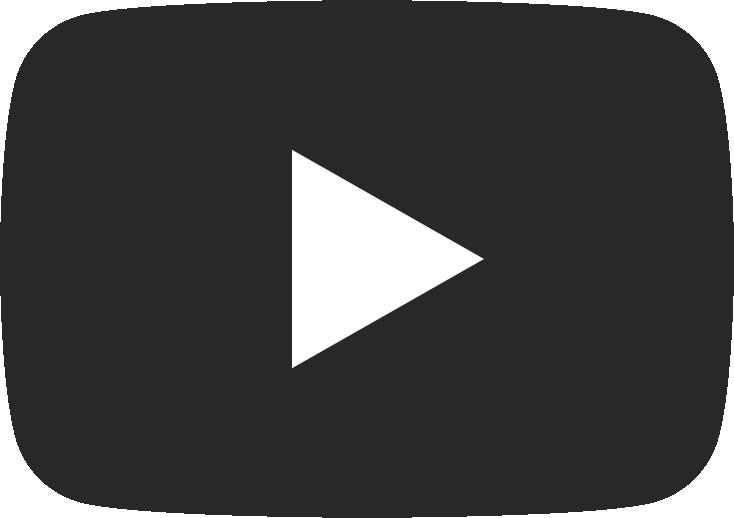 YouTube icon – black with white arrow